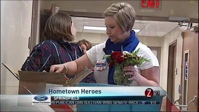 News video: Hometown Hero Upcycles Flowers for a Good Cause